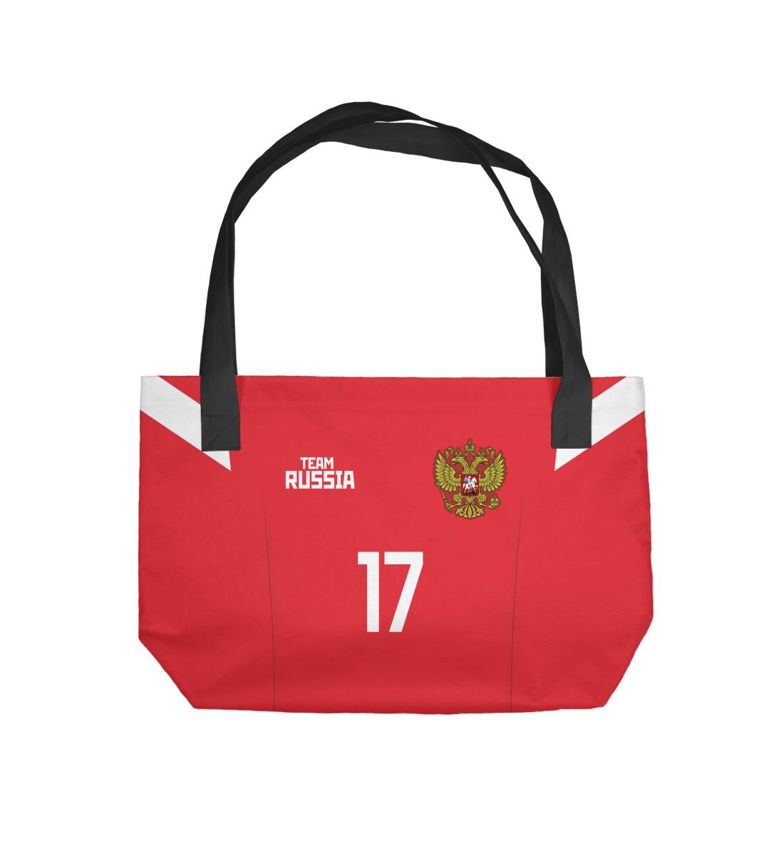 Пляжная сумка Сборная России Головин