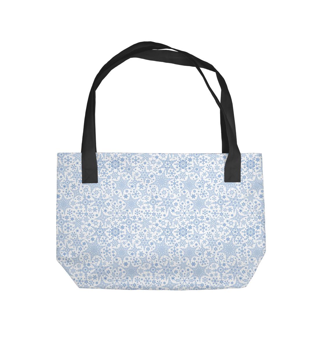 Пляжная сумка Зимние Узоры (838244)