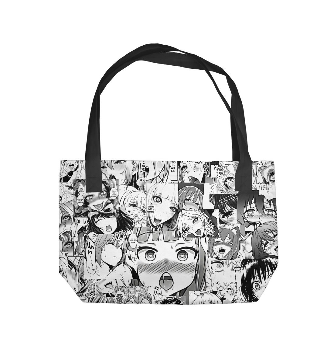 Пляжная сумка Ahegao classic