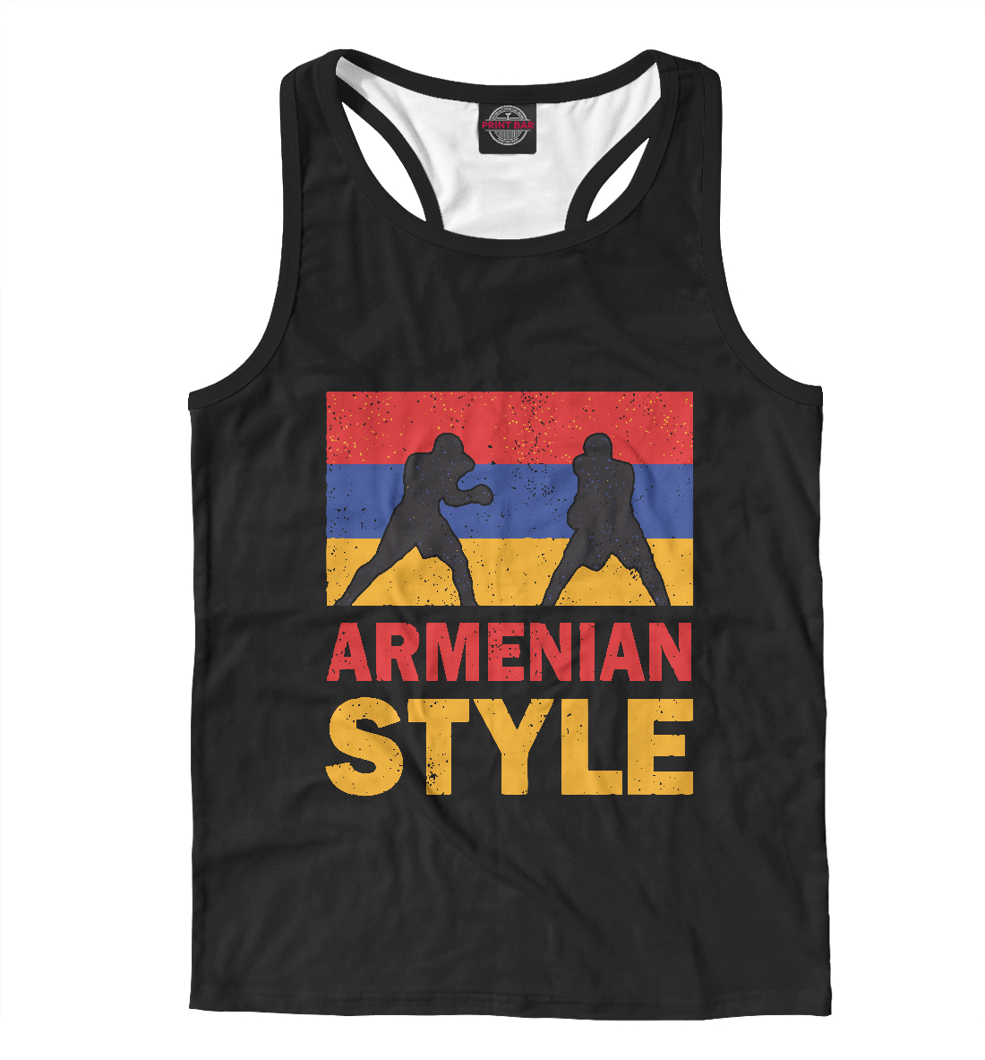 Майка борцовка Армянский стиль