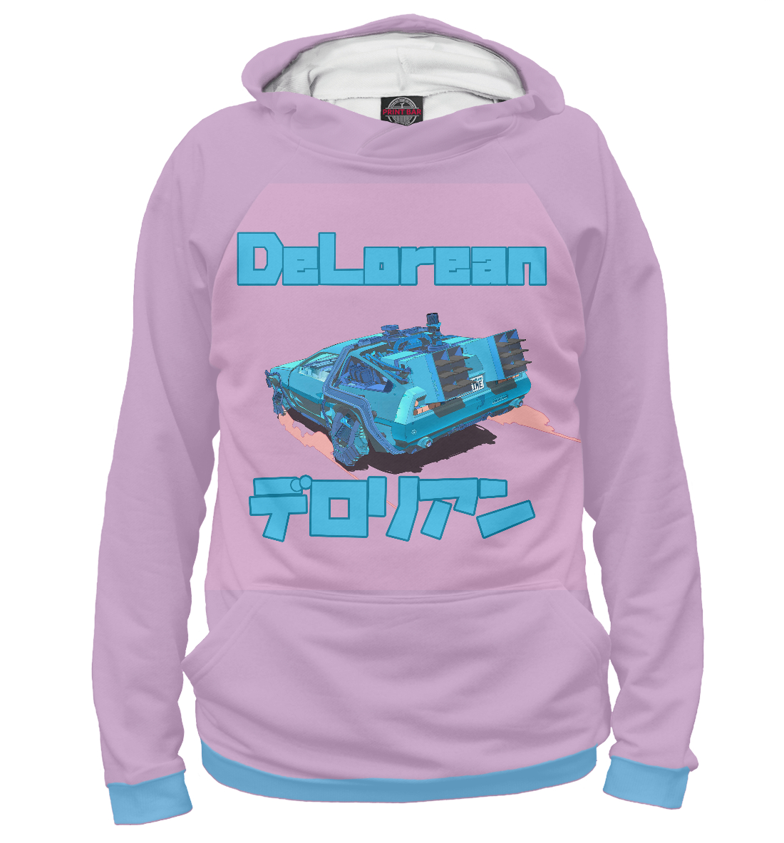 Худи Delorean