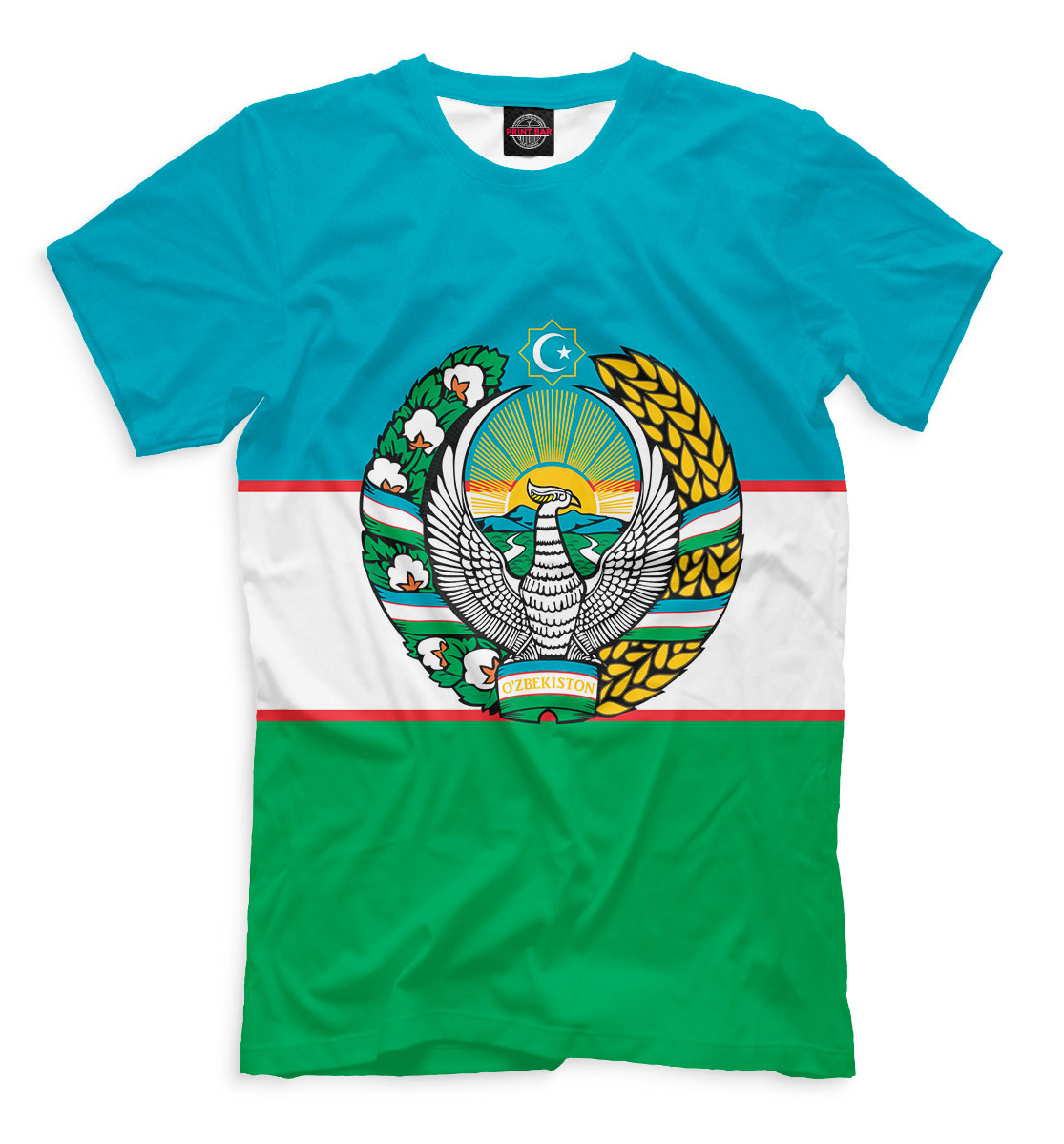 Футболка Узбекистан (245249)
