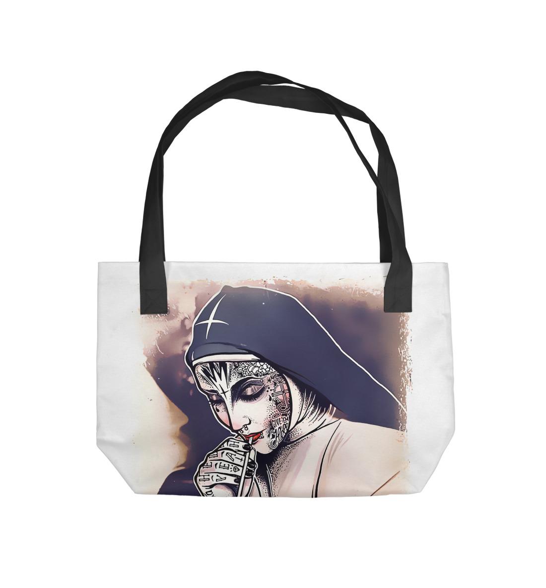 Пляжная сумка Bad Nun