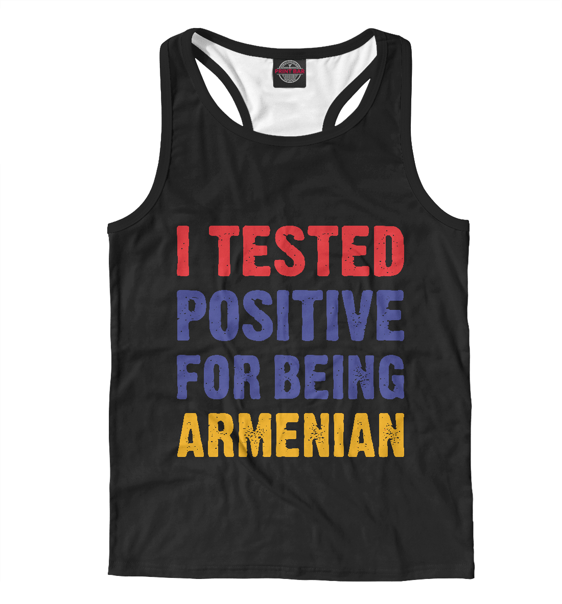 Майка борцовка Positive Armenian