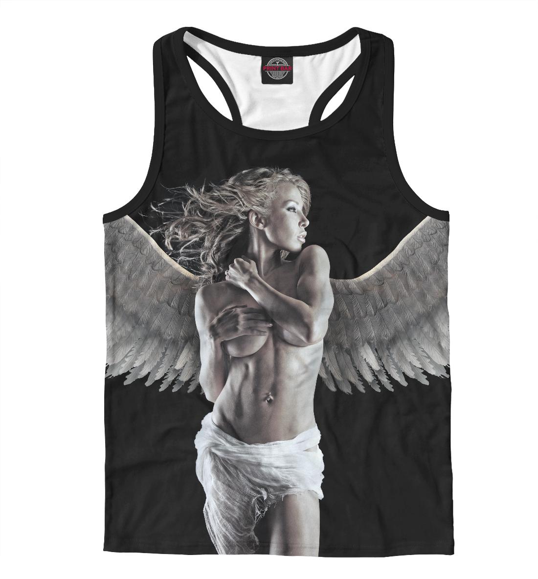 Майка борцовка Девушка - ангел