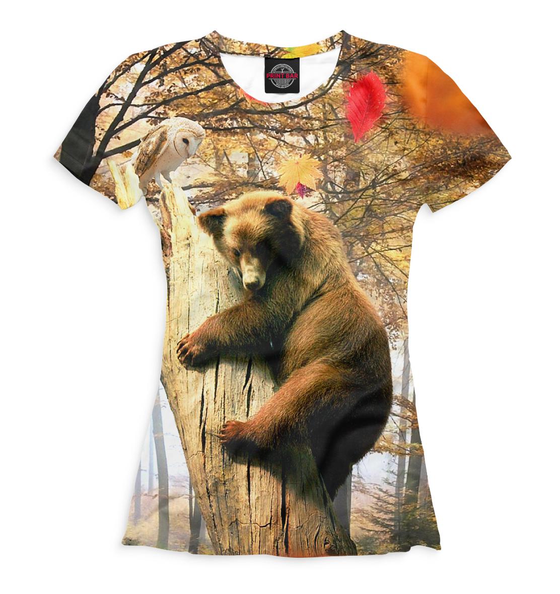 Футболка Медведь на дереве
