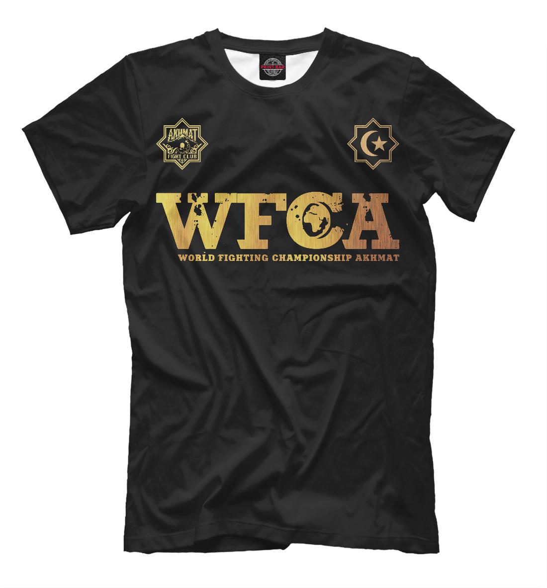 Футболка WFCA Gold