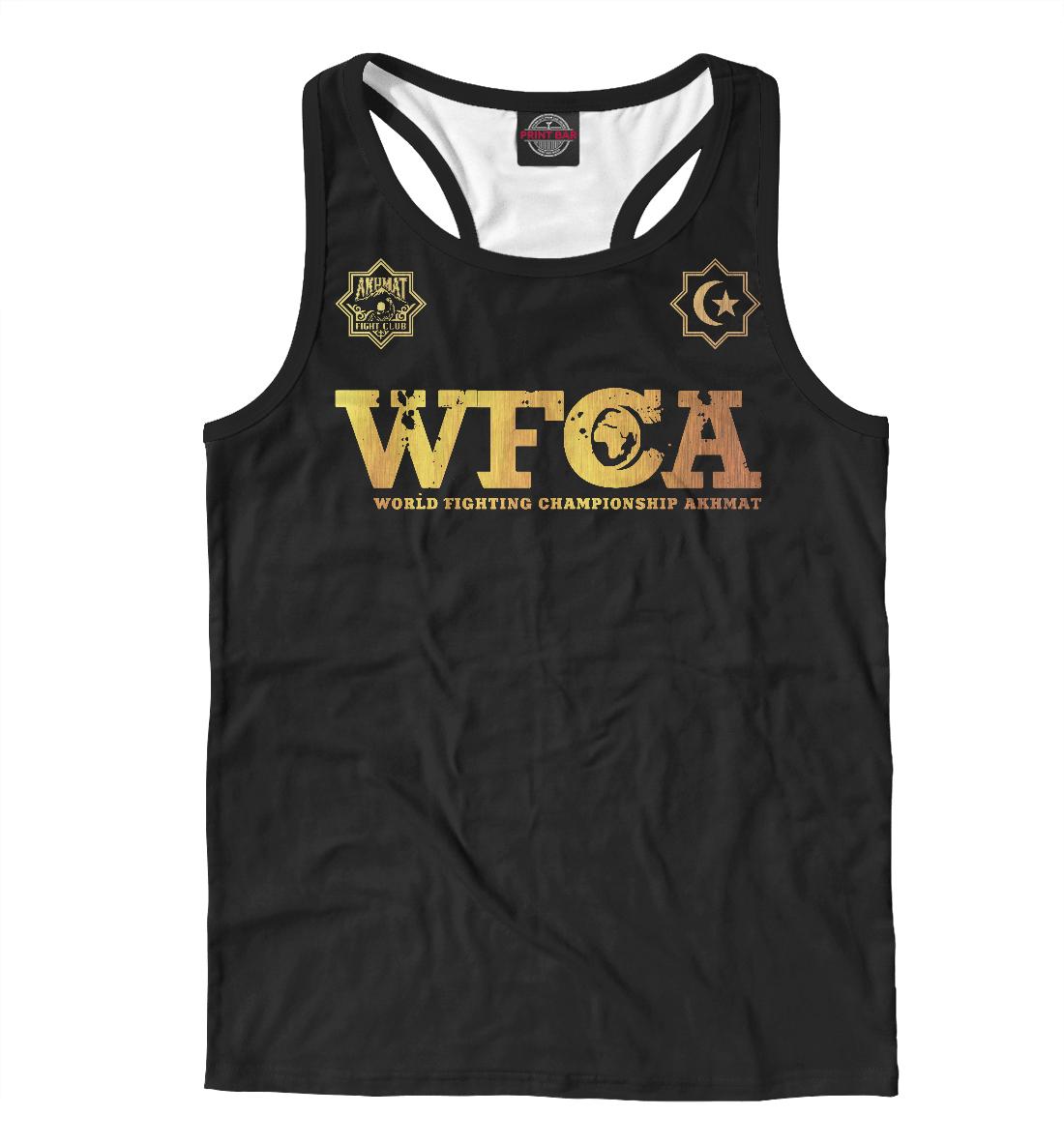 Майка борцовка WFCA Gold
