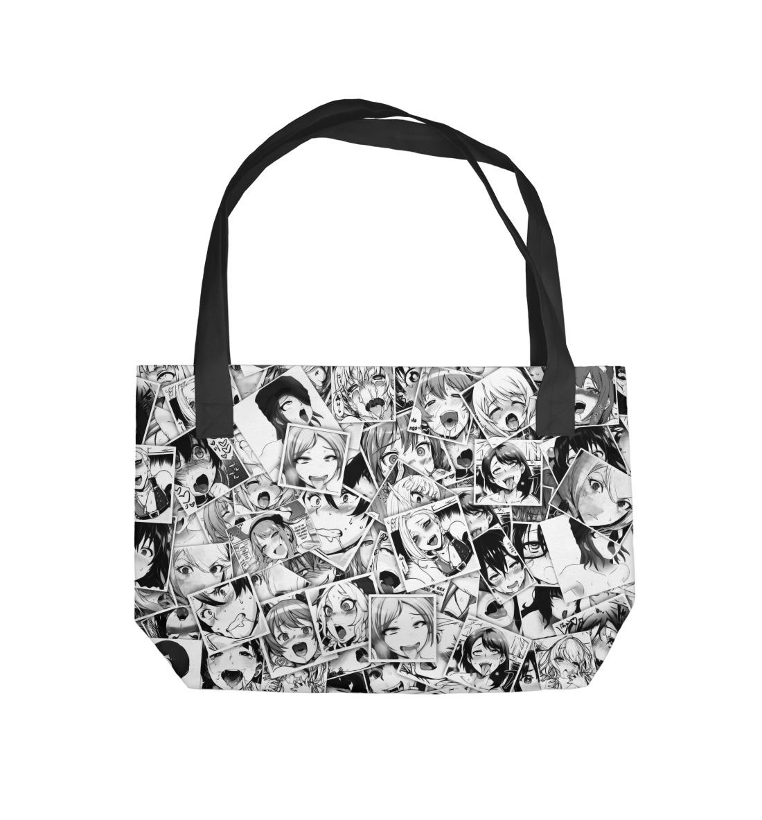 Пляжная сумка Ahegao (471271)
