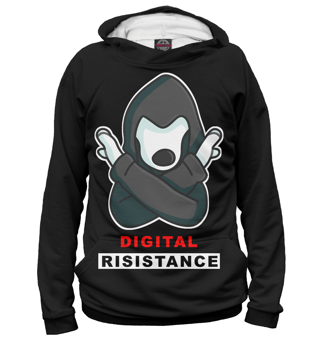 Худи Digital Resistance Dog
