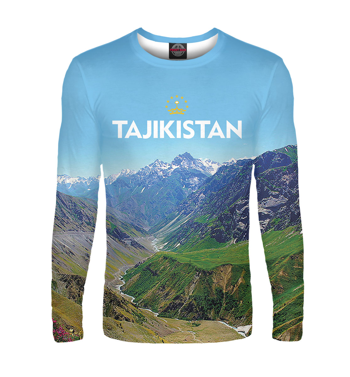 Лонгслив Tajikistan (810730)