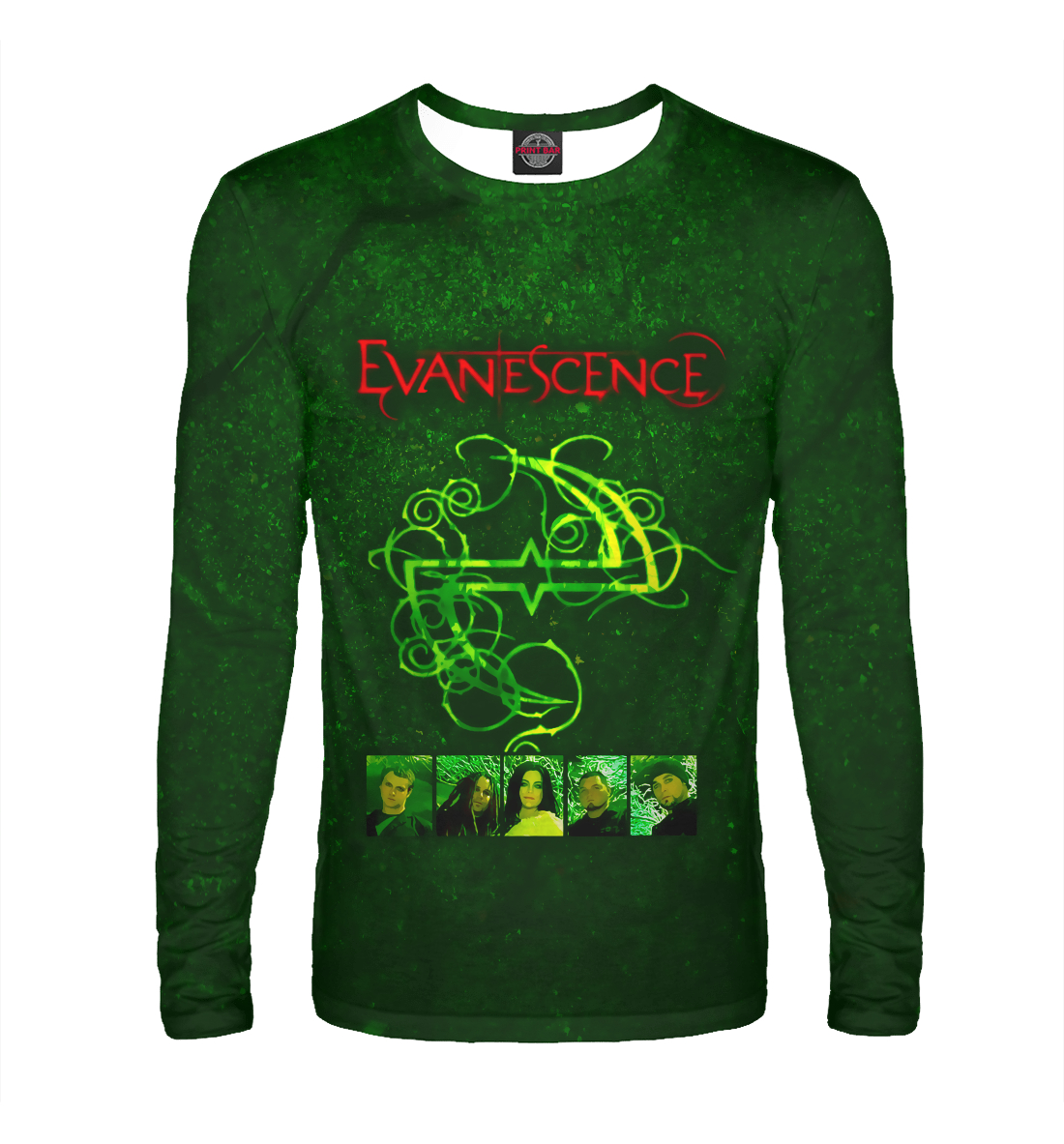 Лонгслив Evanescence (8101)