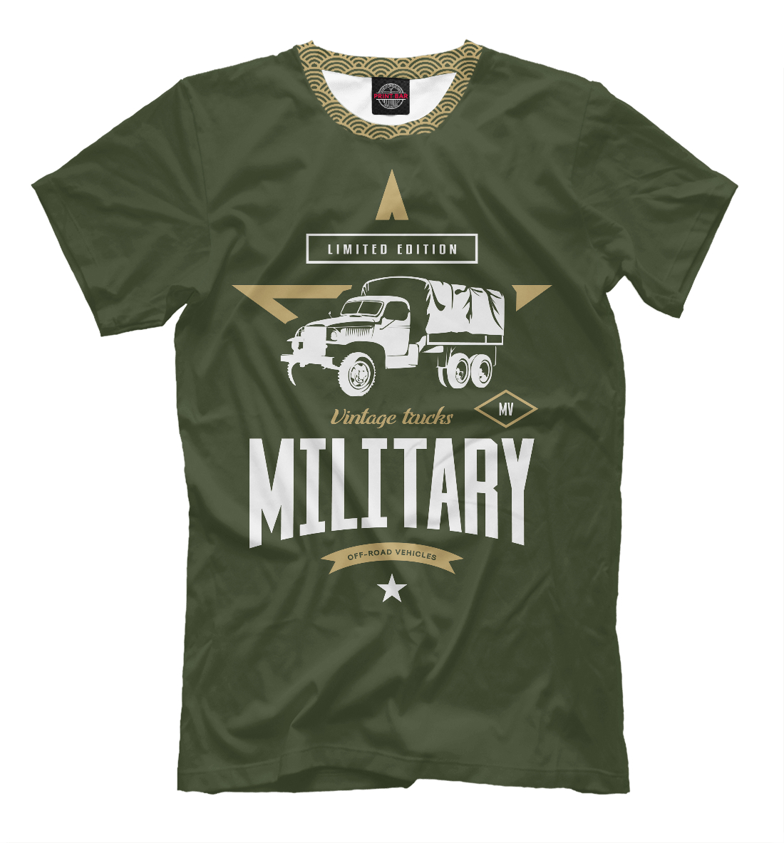 Футболка Военный грузовик