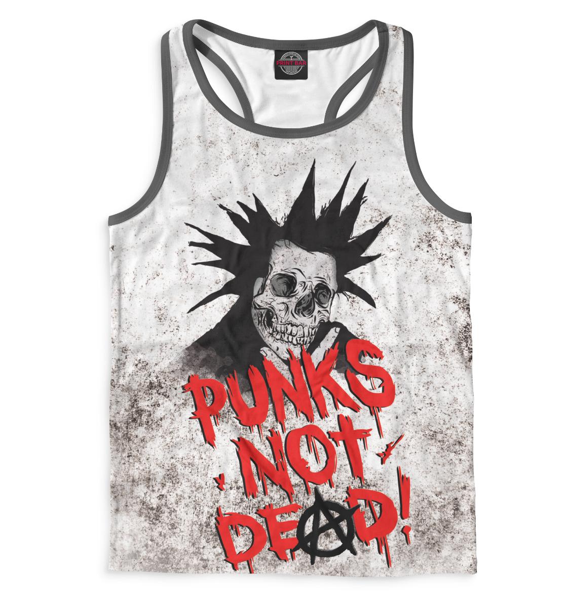 Майка борцовка Punks not Dead!