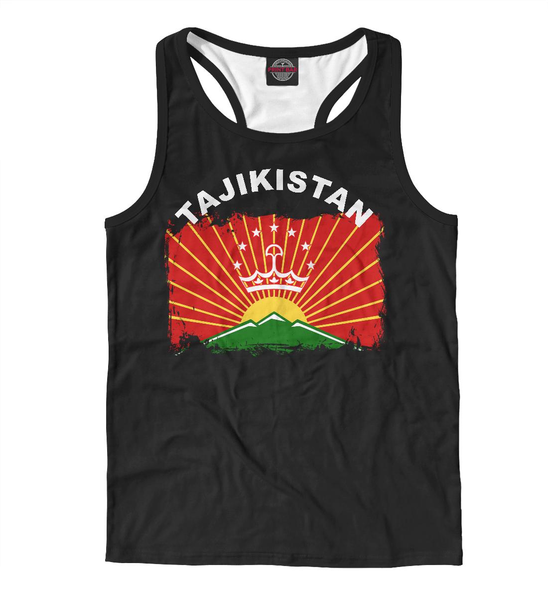 Майка борцовка Tajikistan (885601)