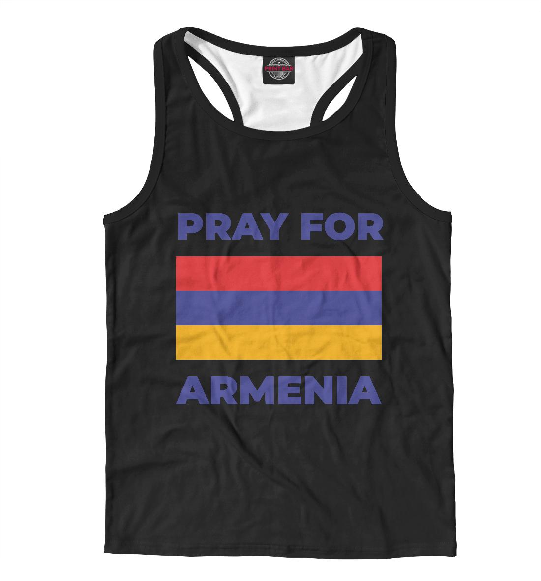 Майка борцовка Pray For Armenia
