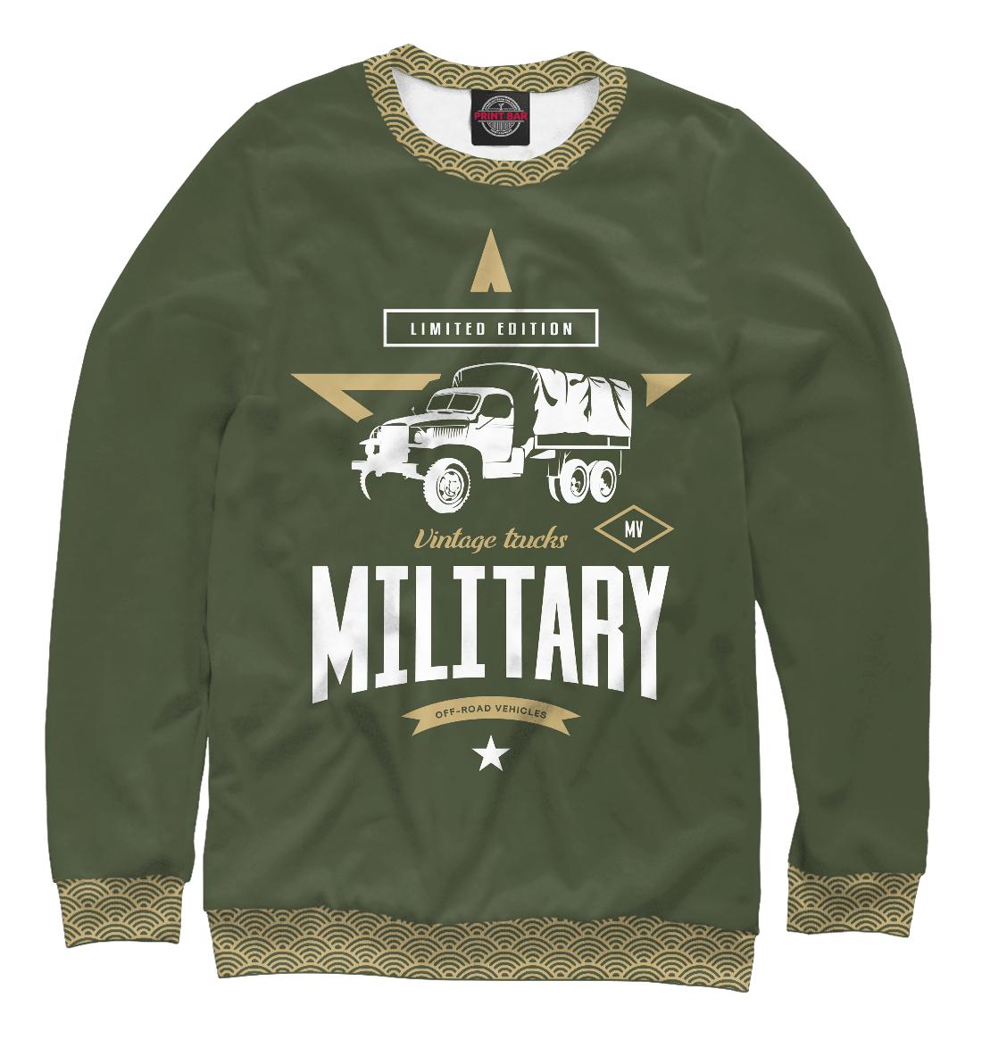 Свитшот Военный грузовик