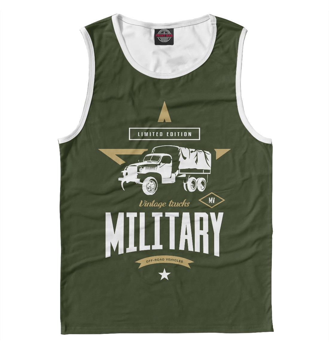 Майка Военный грузовик