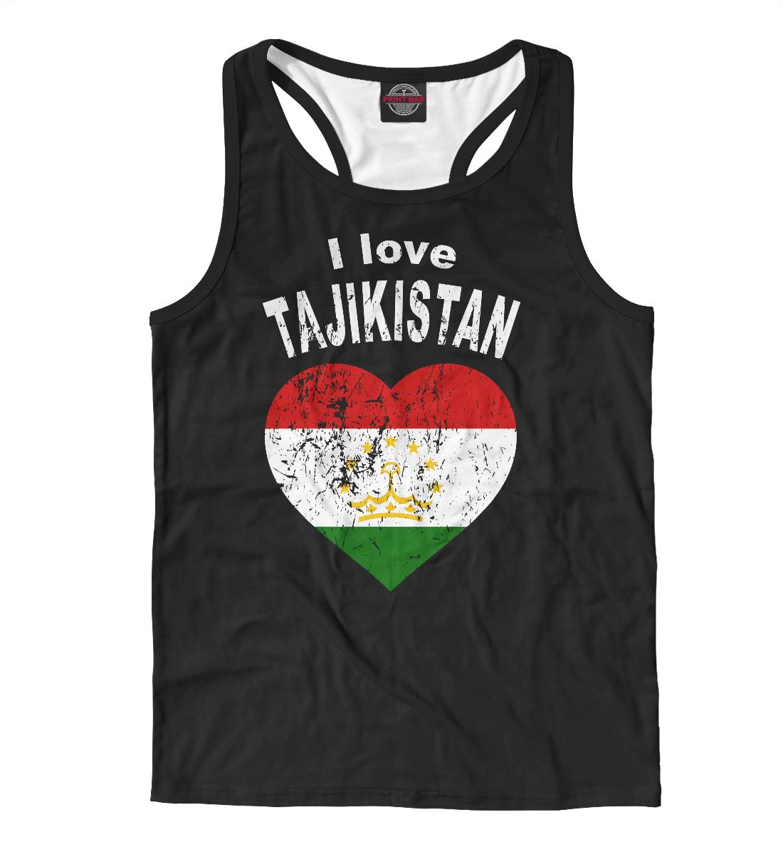 Майка борцовка Tajikistan (685739)