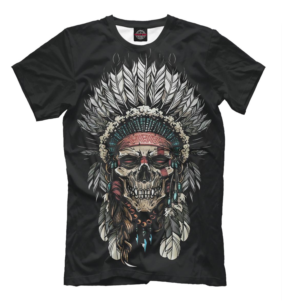 Футболка Indian Skull (556595)