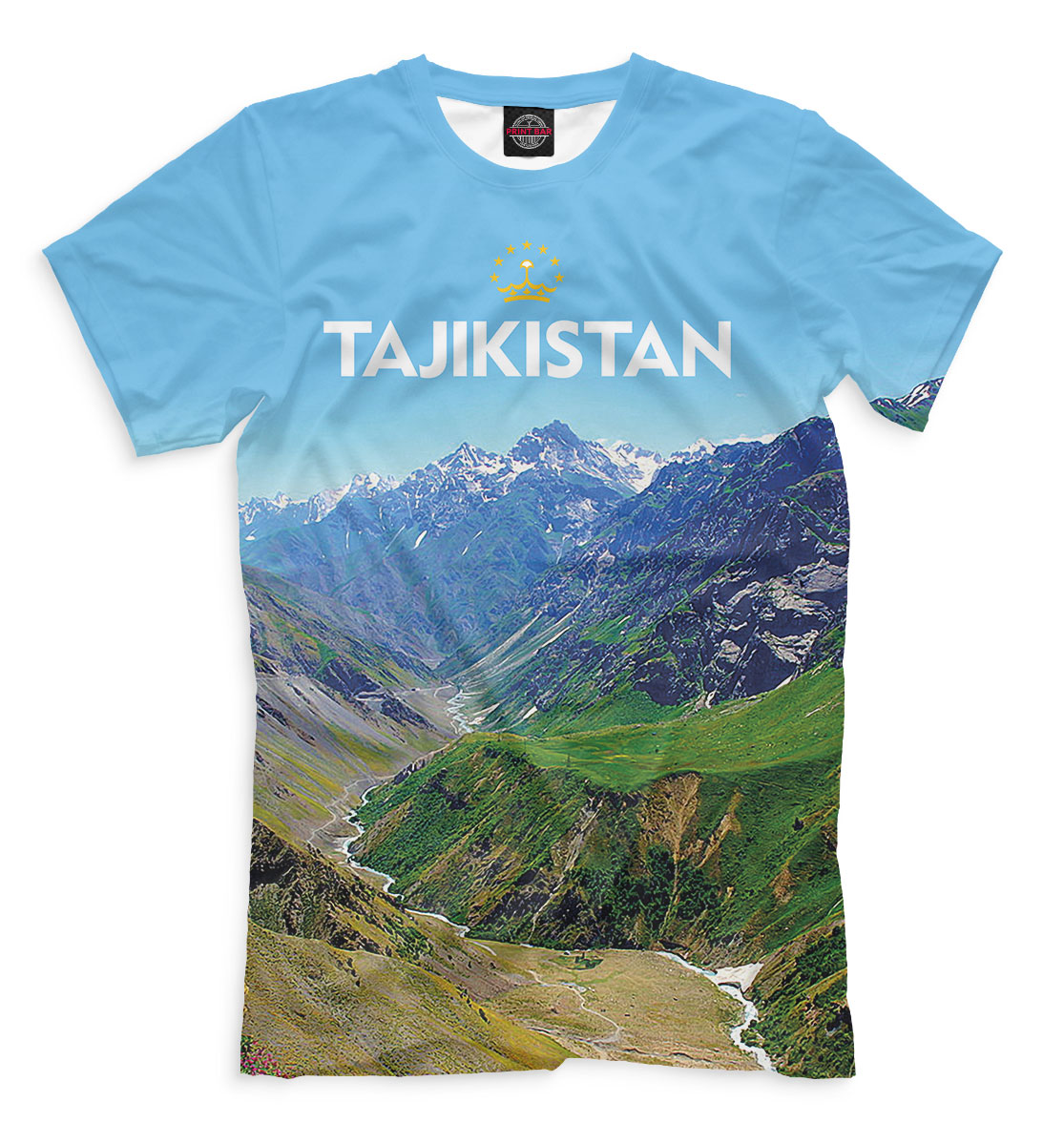 Футболка Tajikistan (810730)