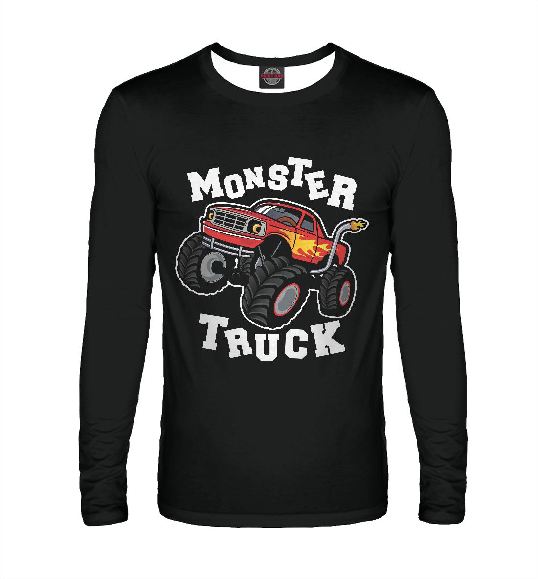 Лонгслив Monster truck (827115)