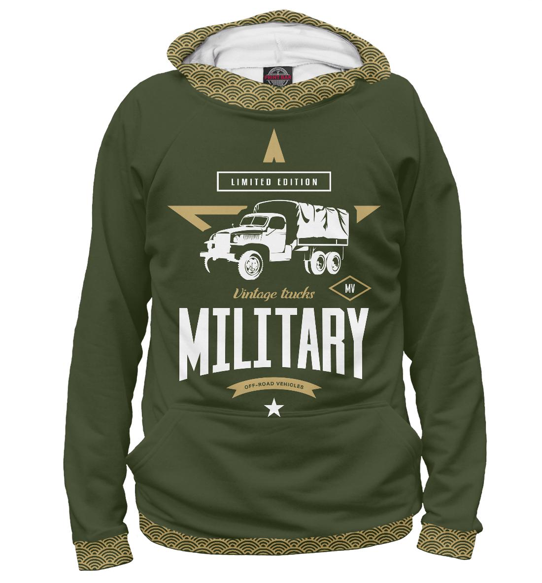 Худи Военный грузовик