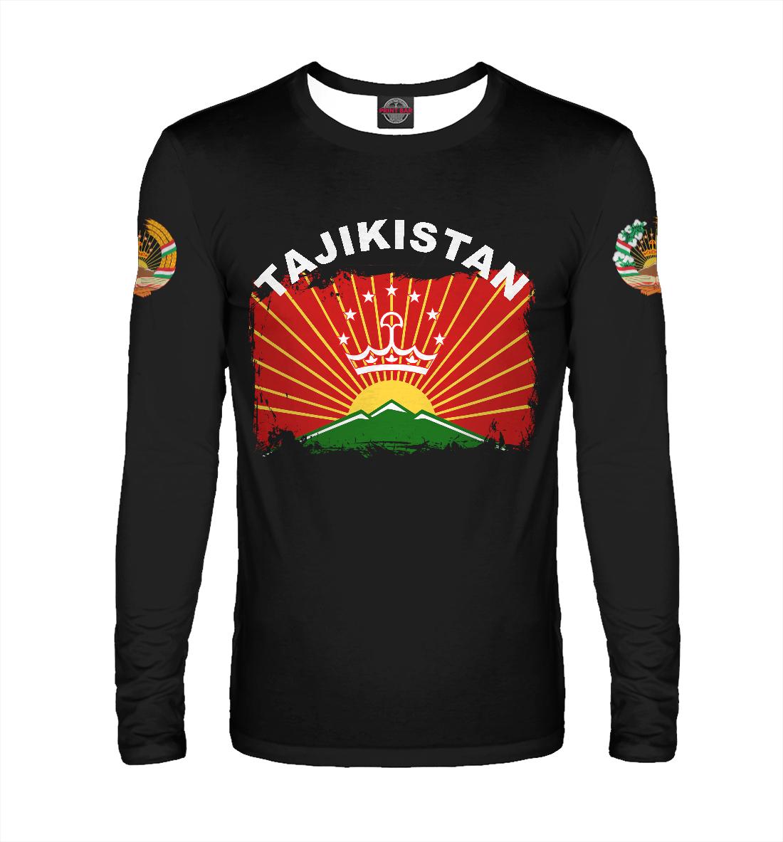 Лонгслив Tajikistan (885601)
