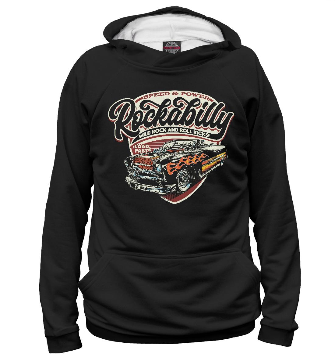 Худи Rockabilly Car