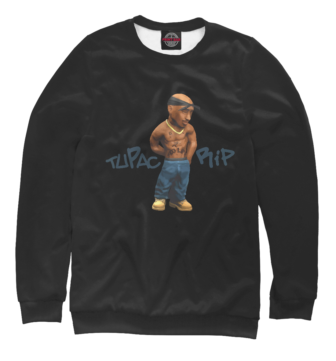 Свитшот Tupac RIP