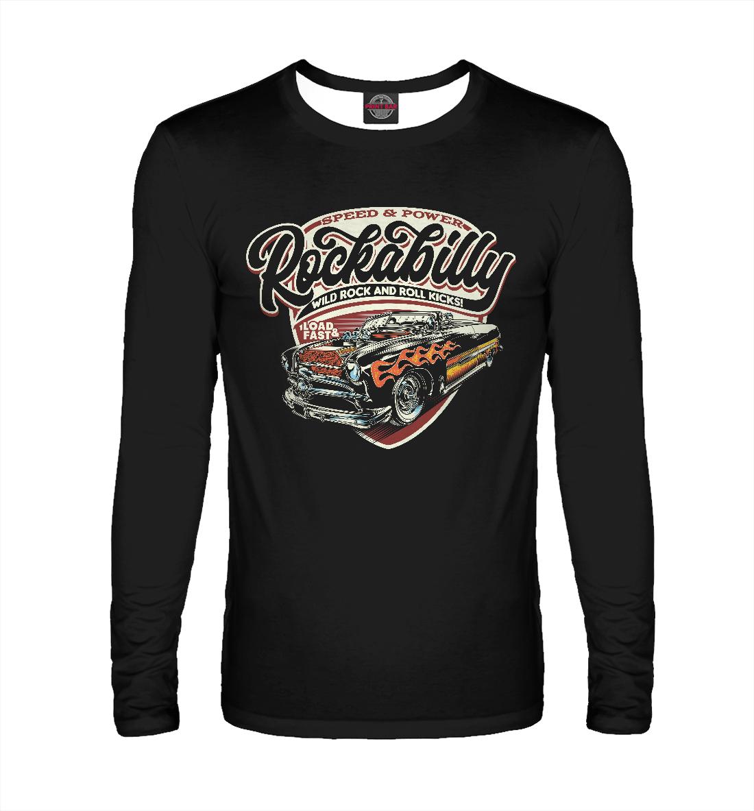 Лонгслив Rockabilly Car