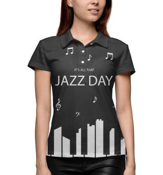 Поло женское Jazz day (3538)