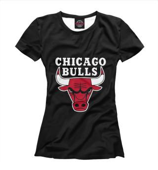 Футболка женская Chicago Bulls