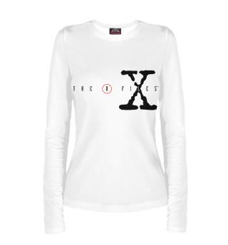 Лонгслив  женский The X-Files logo