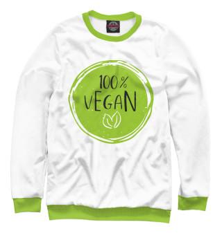 Одежда с принтом 100% Vegan