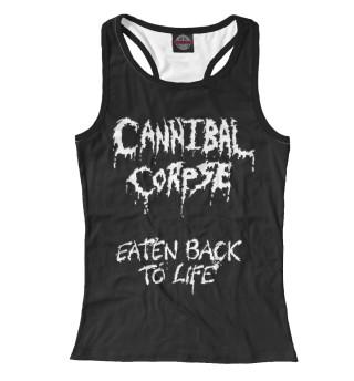 Майка борцовка женская Cannibal Corpse (6323)