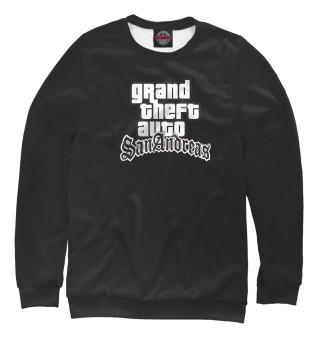 Одежда с принтом GTA San Andreas Logo