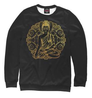 Одежда с принтом Будда золотой