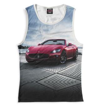 Майка женская Maserati (6453)