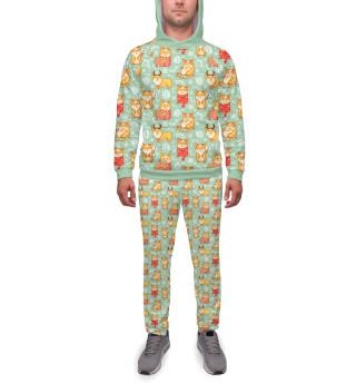 Спортивный костюм  мужской Корги Яша к зиме готов!