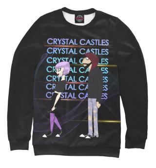 Одежда с принтом Crystal Castles (649401)