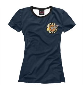 Футболка женская Planet Striker (8886)