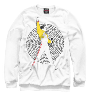 Одежда с принтом One Vision Freddie Mercury