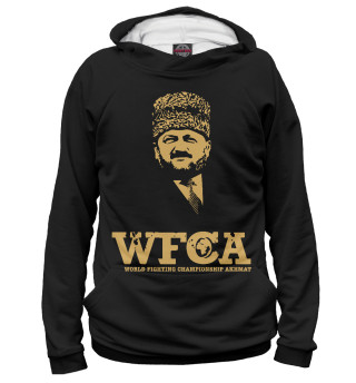 Худи женское WFCA Federation Black