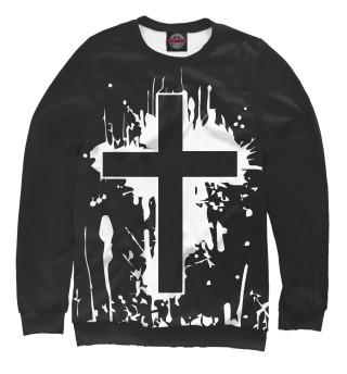 Одежда с принтом Крест