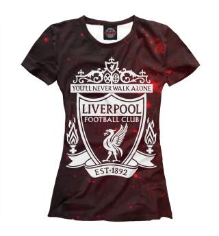 Футболка женская Liverpool