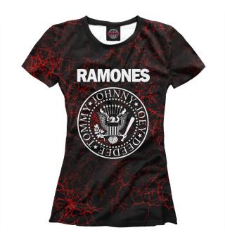 Футболка женская Ramones (4868)