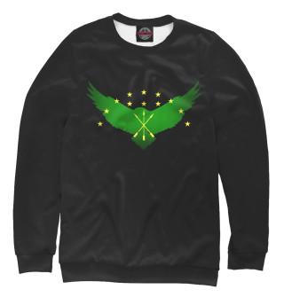 Одежда с принтом Черкесский орел