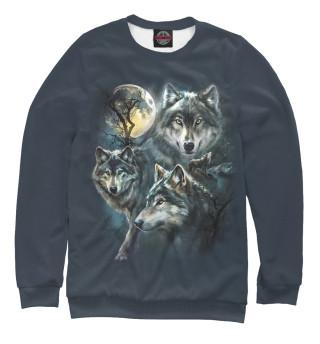 Одежда с принтом Волки (518661)