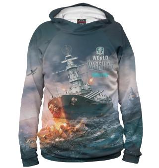 Худи женское World of Warships (5298)